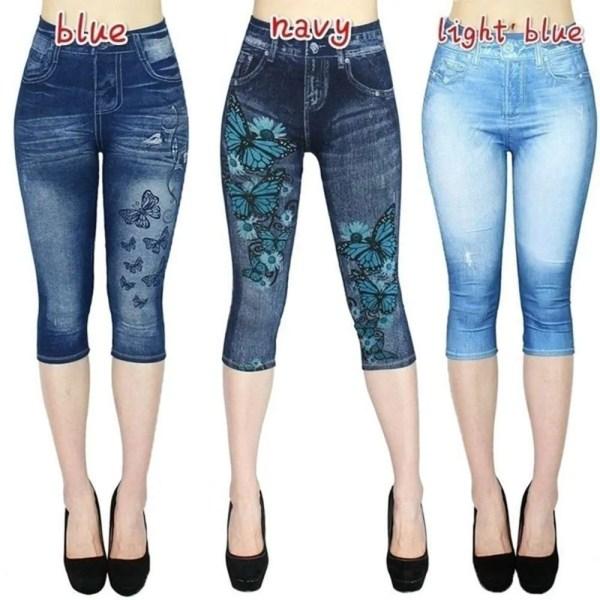 Women Summer Leggings Jeans Style 12