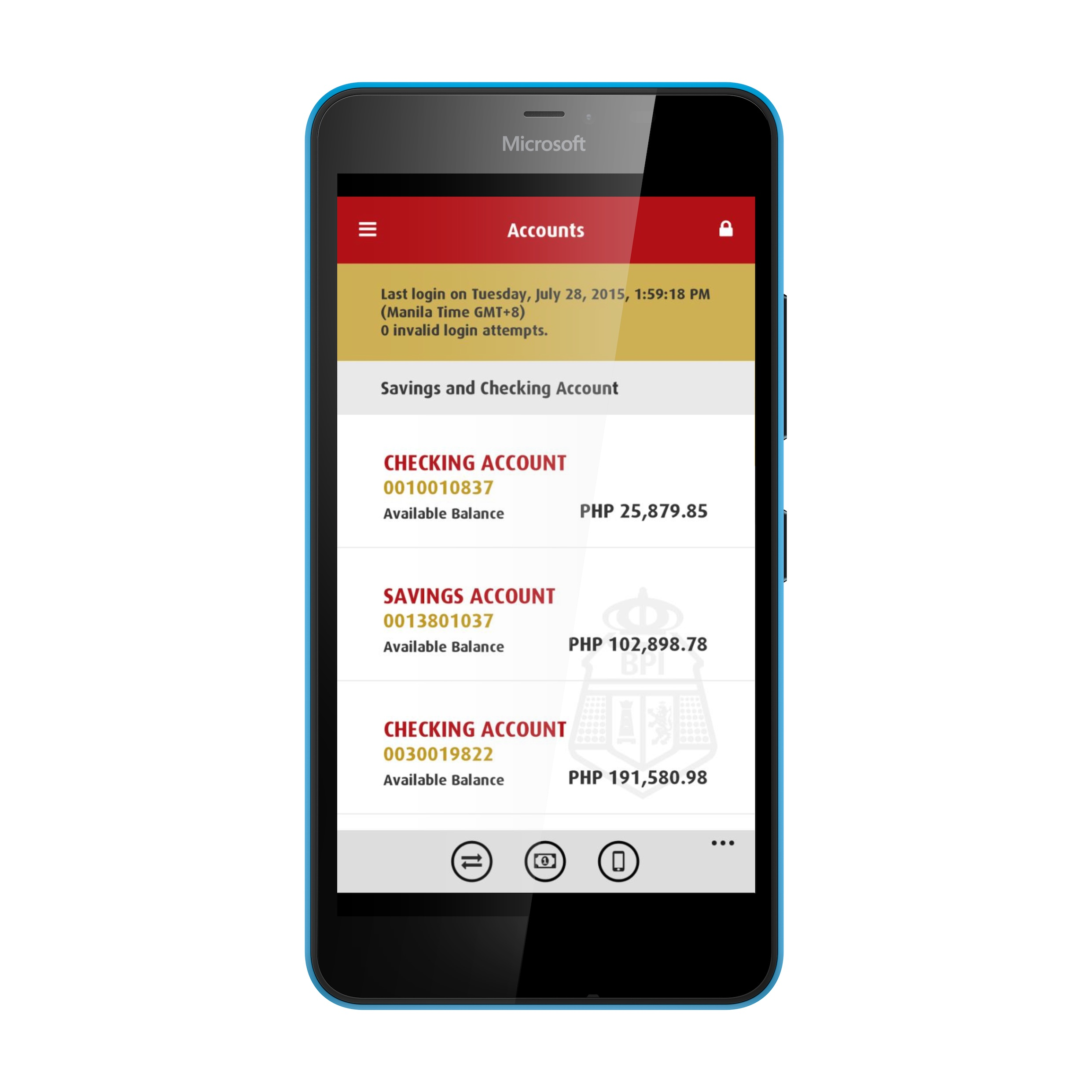 First Security Bank App