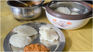 Idli breakfast
