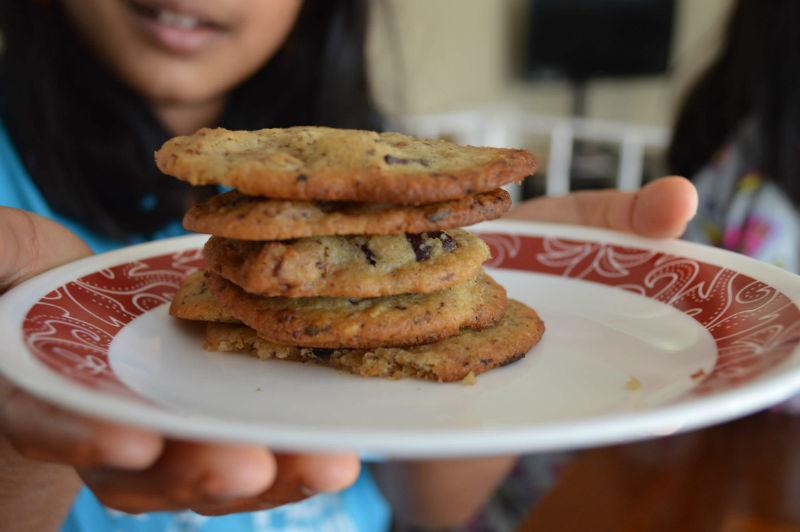 Chickpeas gluten free cookies