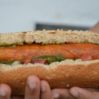 Vegan Hot Dog