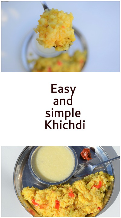 Quick and Easy Khichdi, prep ahead and cook fast