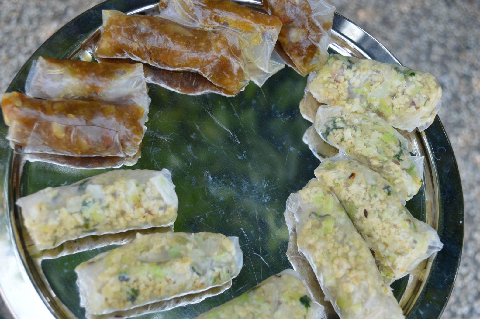 Sweet and kara kozhukattai