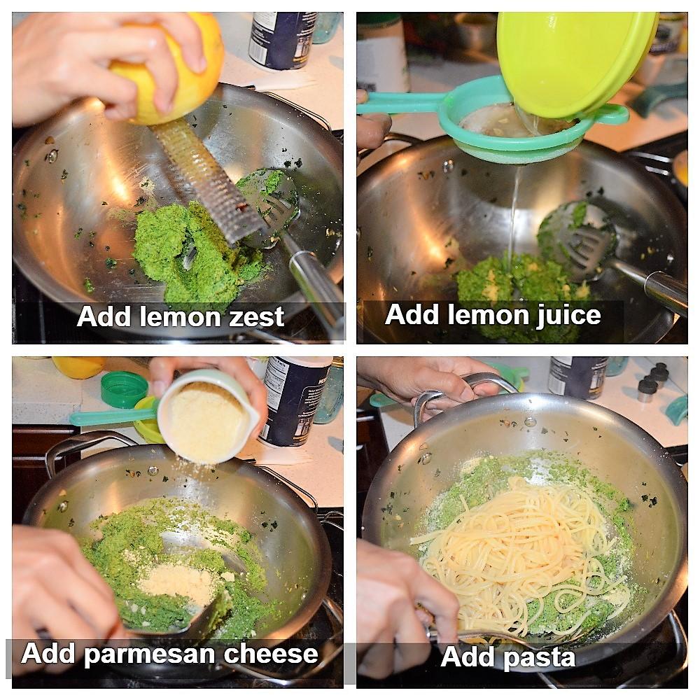 Pesto instructions