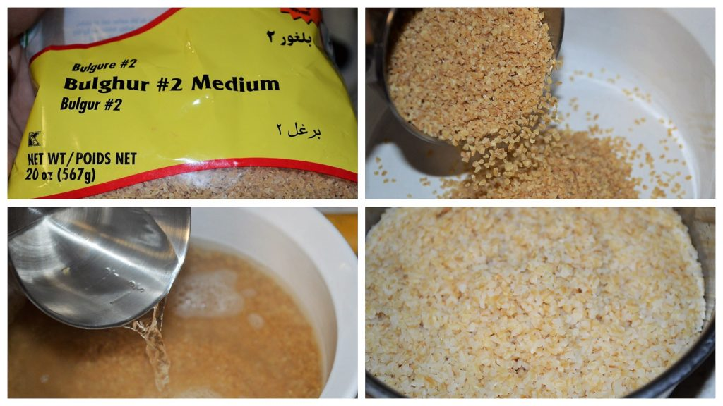 Bulgur as a rice substitute