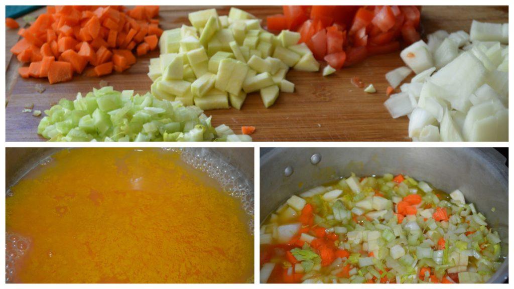 Healthy Bonda Soup (with baked bonda) - Upgrade My Food