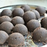 Ragi chocolate truffle recipe made with dates, vegan treat perfect filled with calcium perfect for kids| upgrademyfood.com