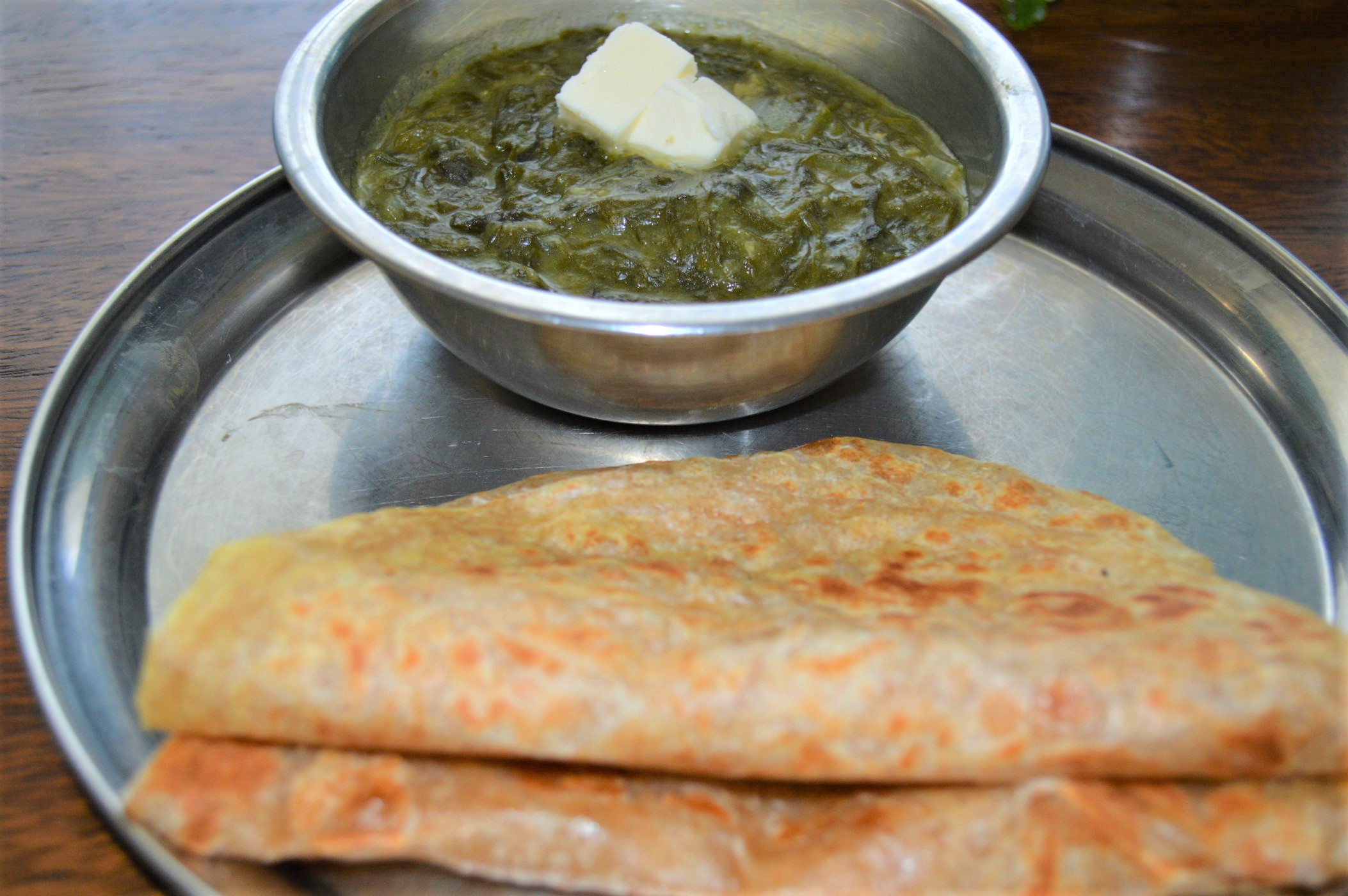 Creamy saag recipe