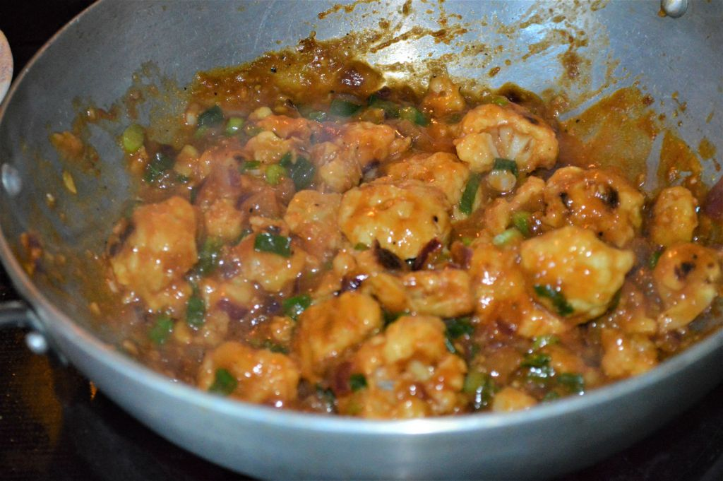 Healthy Gobi manchurian recipe