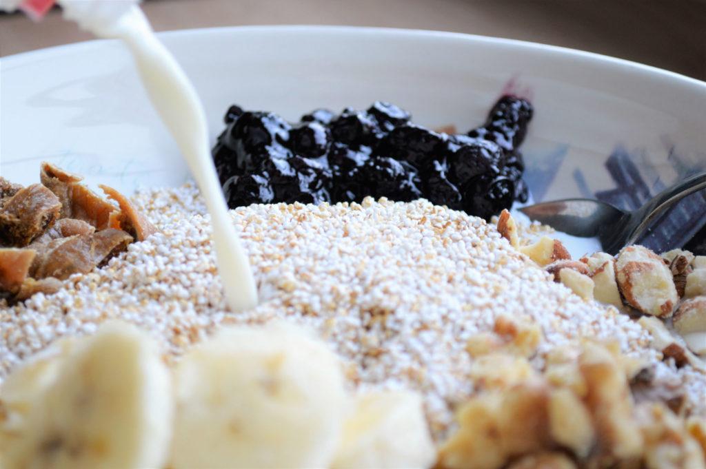 Popped Rajgira Cereal