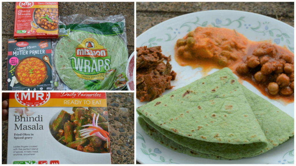 MTR Ready to eat Haldiram minute khana lunch