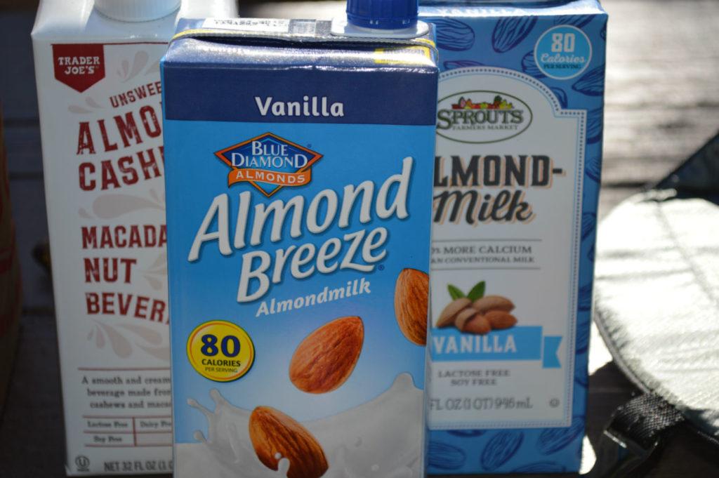 Shelf Stable vegan milks tetra packs