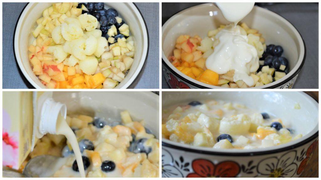 chum chum fruit salad instructions