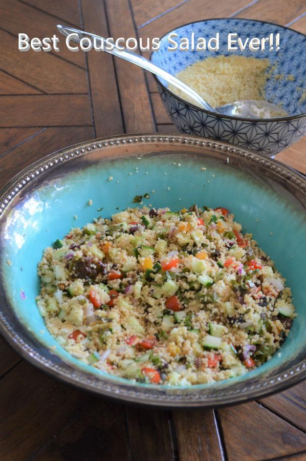 low glycemic couscous recipe