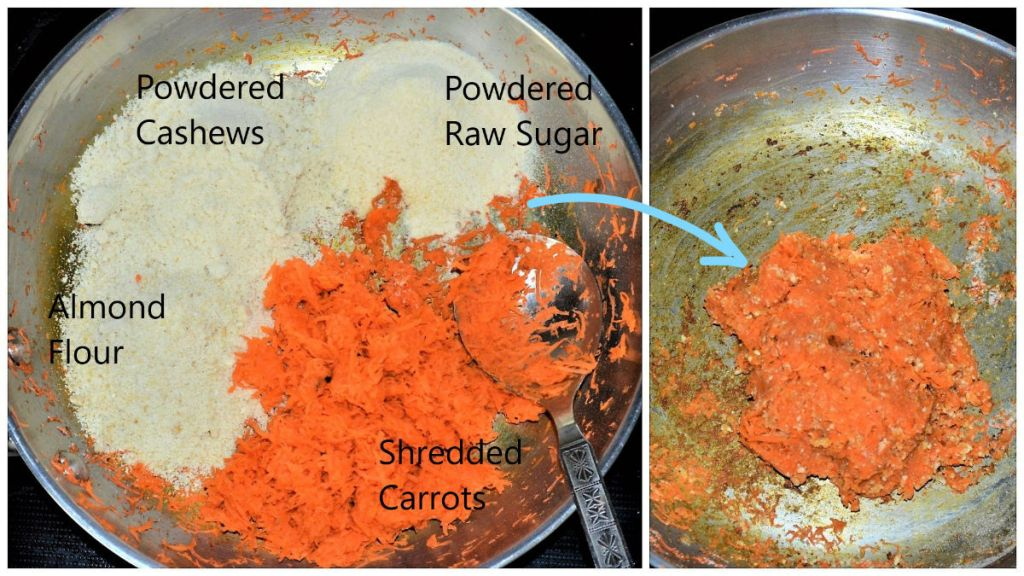 Easy Carrot Ball Ingredients