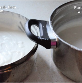 Add salt to batter before or after fermentation