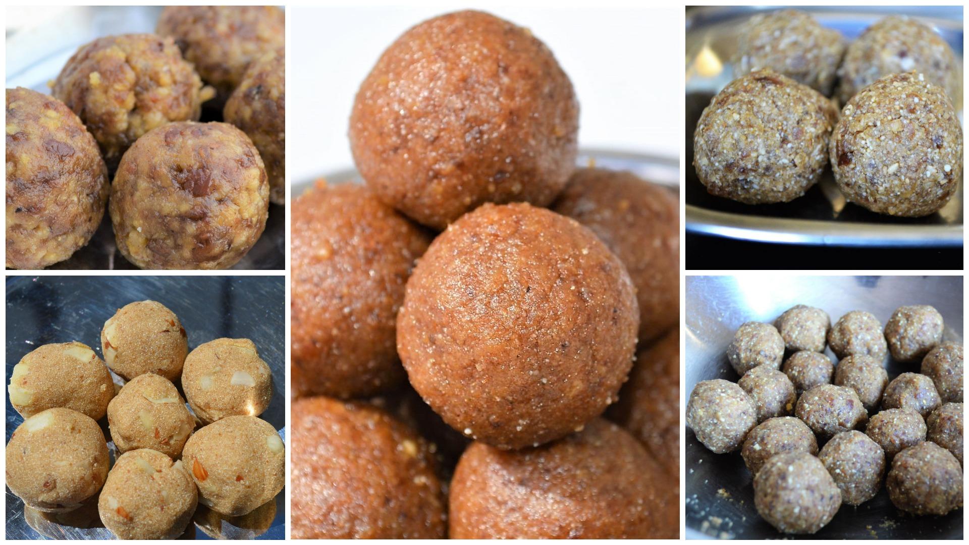 Healthy Laddu ladoo recipes