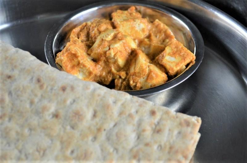 Vegan Shahi Tofu ready in 10 minutes