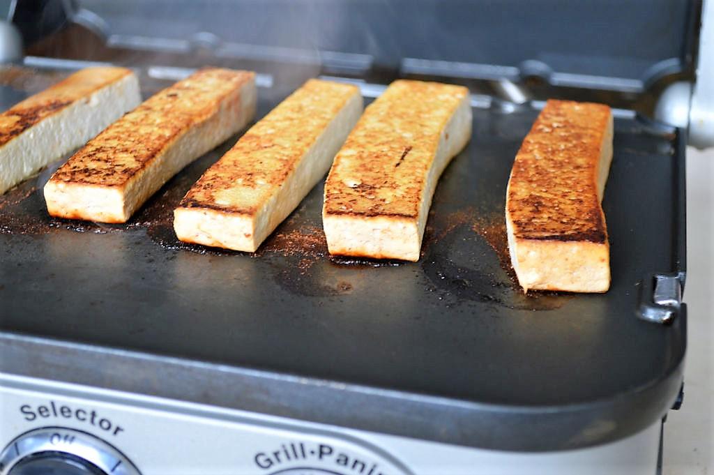 baked tofu recipe panini press