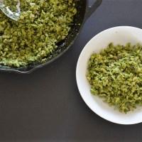 Ellu Sadam made with Broccoli 'Rice'