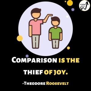 Quote on comparison