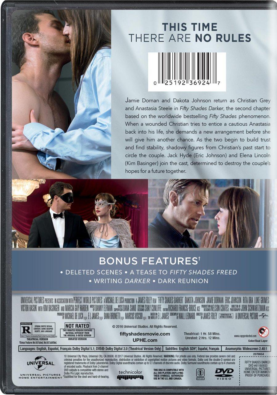 Fifty Shades Darker Movie Page Dvd Blu Ray Digital Hd
