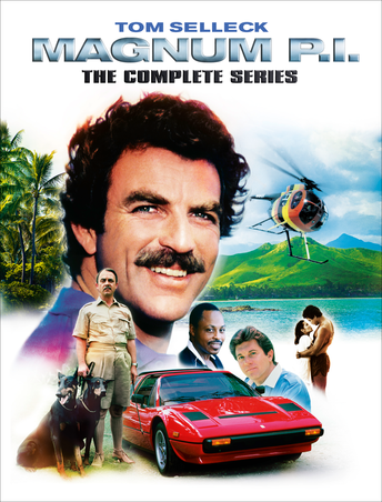 magnum p i the complete series own