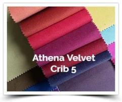 Athena Velvet Crib 5
