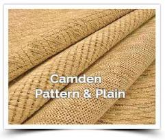 Camden pattern & plain