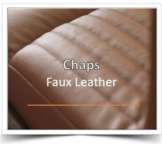 Chaps Faux Leather