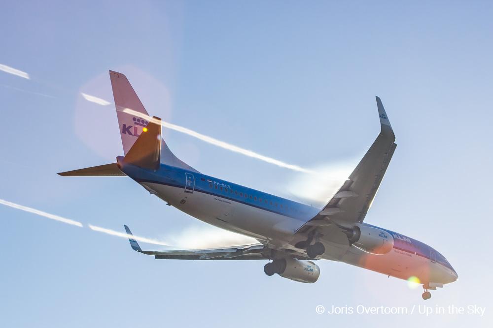 KLM-vlucht uitgeweken naar Warschau