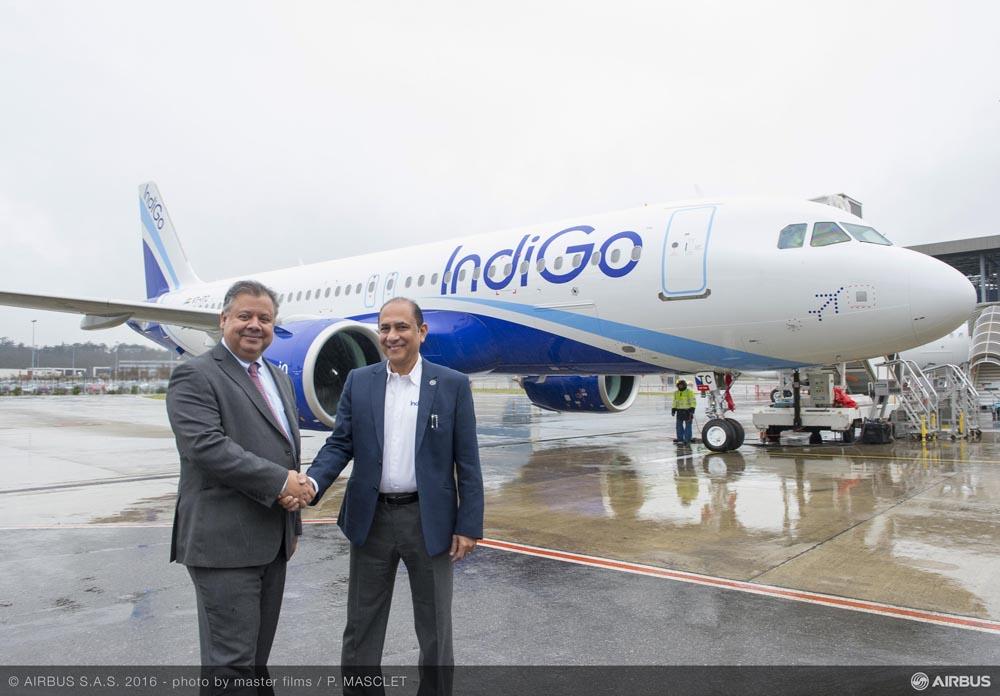 Merendeel A320neo's Indigo aan de grond