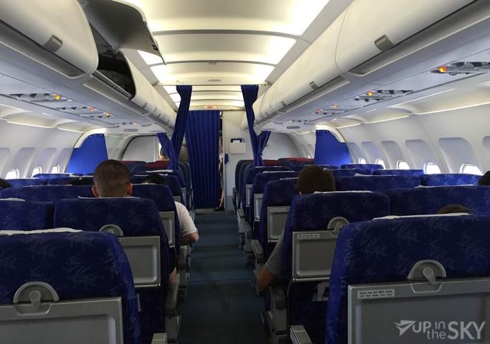 Bassaka Air cabine