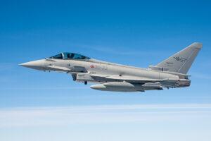 Eurofighter Typhoon © Leonard van den Broek