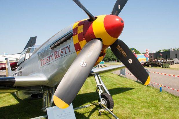 P-51D Mustang van de Stichting Vroege Vogels © Leonard van den Broek