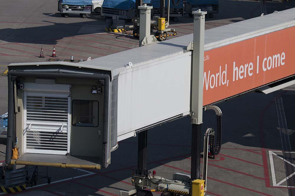 Slimme passagiersbrug voor Schiphol