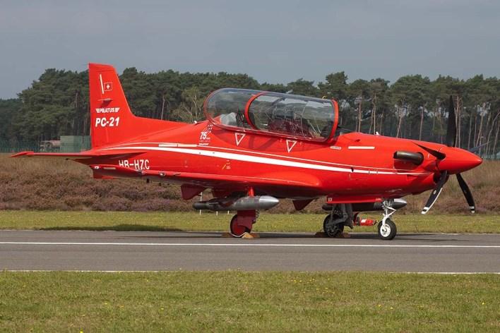 HB-HZC Pilatus PC21 Pilatus  (c) Remco de Wit