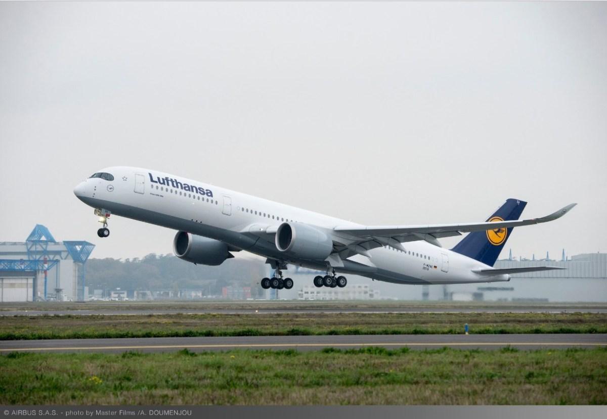 Lufthansa is dol op de Airbus A350 - foto's