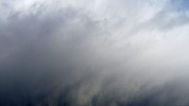 Een sneeuwstorm komt aanwaaien - ©Michael Clarke Stuff/Wikipedia