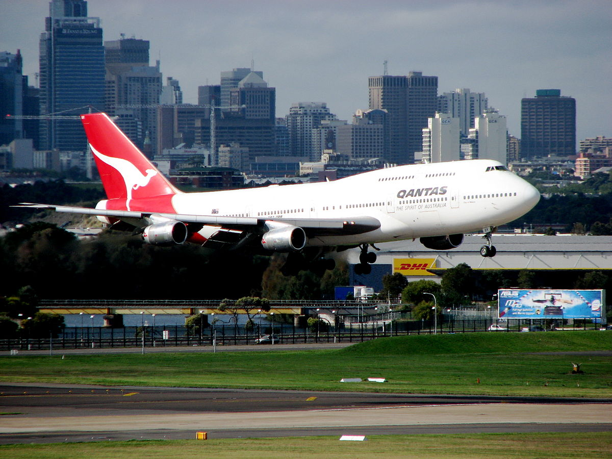 Qantas pimpt first class 747