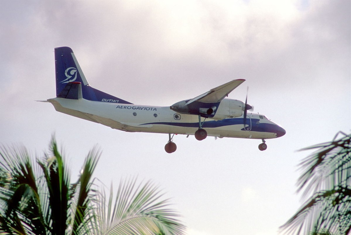 Cubaanse Antonov crash