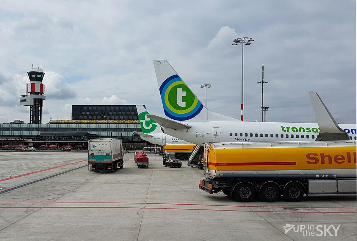 Piloten Transavia staken tijdens krokusvakantie
