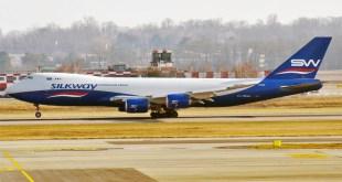 Een 747-83QF van Silk Way Airlines - ©Anna Zvereva/Wikipedia