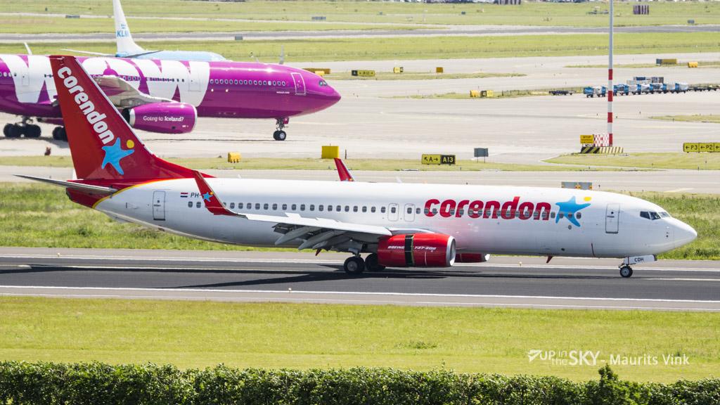 Corendon Boeing 737 keert terug na brandmelding