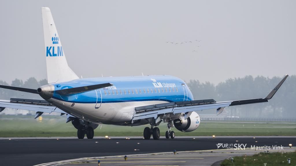 KLM schrapt vluchten vanwege orkaan Ophelia