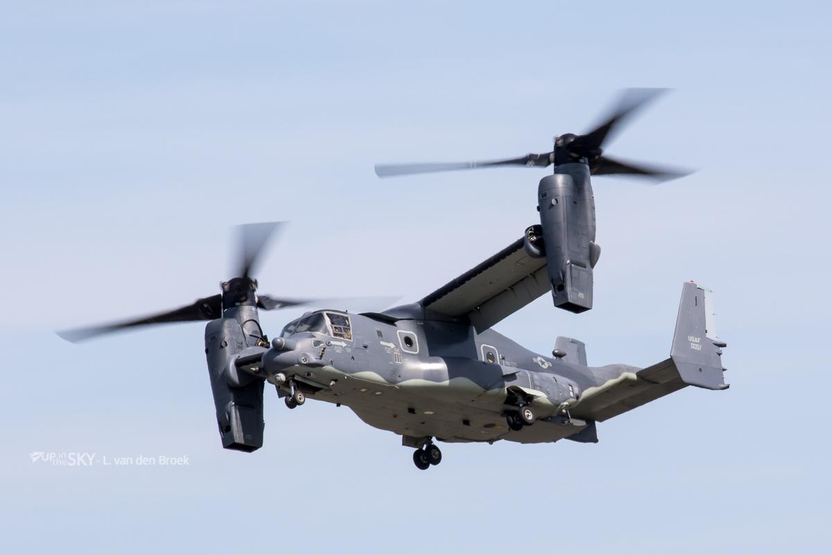 V-22 Osprey vloot bereikt 400.000 vlieguren