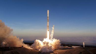 Iridium-5 missie - ©SpaceX