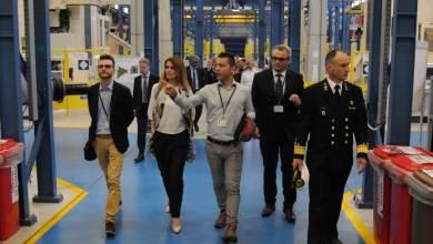 Staatssecretaris van Defensie Barbara Visser in de F-35 fabriek in Cameri - ©Ministerie van Defensie