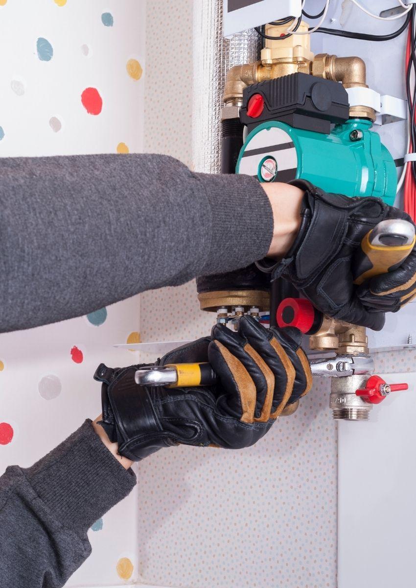Electric boiler repairs