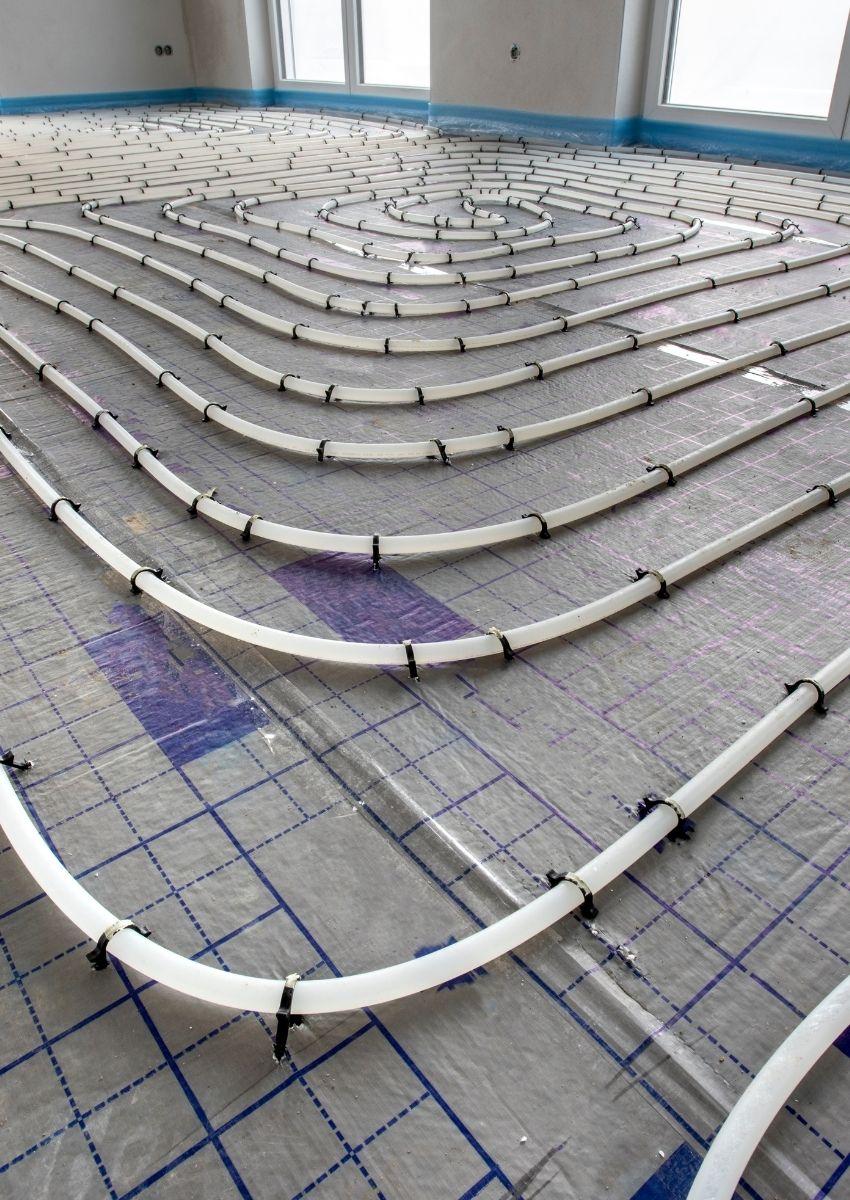 Underfloor heating installations London